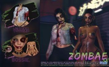 """Zombae"" Set Halloween 2018 Group Gift by Bossie. x Villena - Teleport Hub - teleporthub.com"