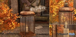Late Fall Lantern October 2018 Group Gift by Ariskea - Teleport Hub - teleporthub.com