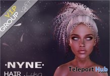 Luka Hair October 2018 VIP Group Gift by NYNE - Teleport Hub - teleporthub.com