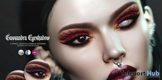 Cassandra Eyeshadow October 2018 Group Gift by Suicidal Unborn - Teleport Hub - teleporthub.com