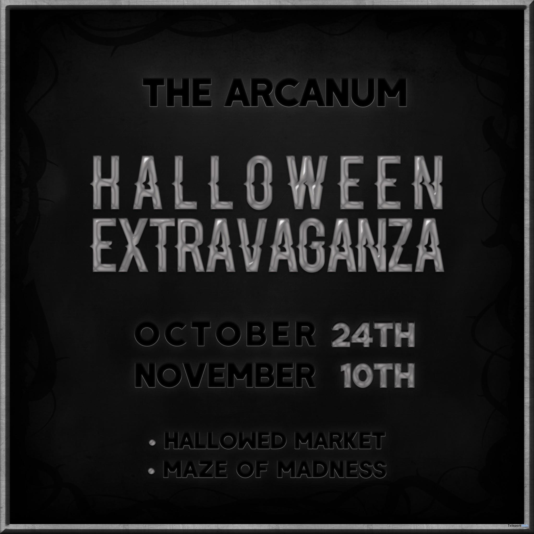 The Arcanum Halloween Extravaganza 2018 - Teleport Hub - teleporthub.com
