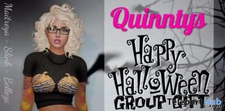 Creepy Girl Outfit Halloween 2018 Group Gift by Quinnty's - Teleport Hub - teleporthub.com