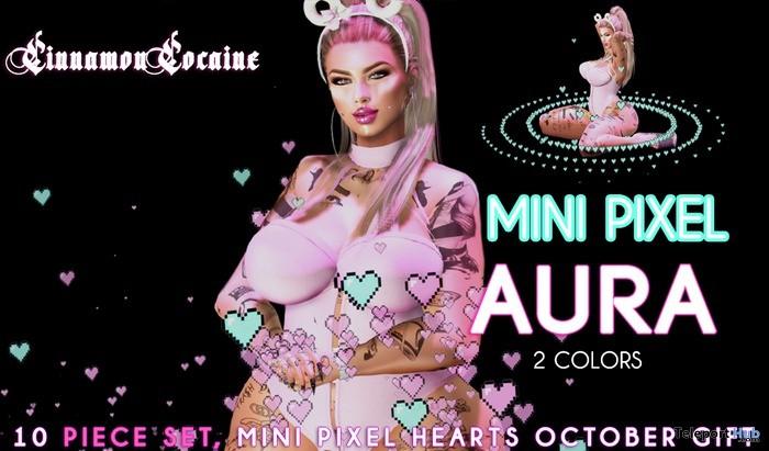 Mini Heart Pixel Aura 1L Promo by Cinnamon Cocaine - Teleport Hub - teleporthub.com