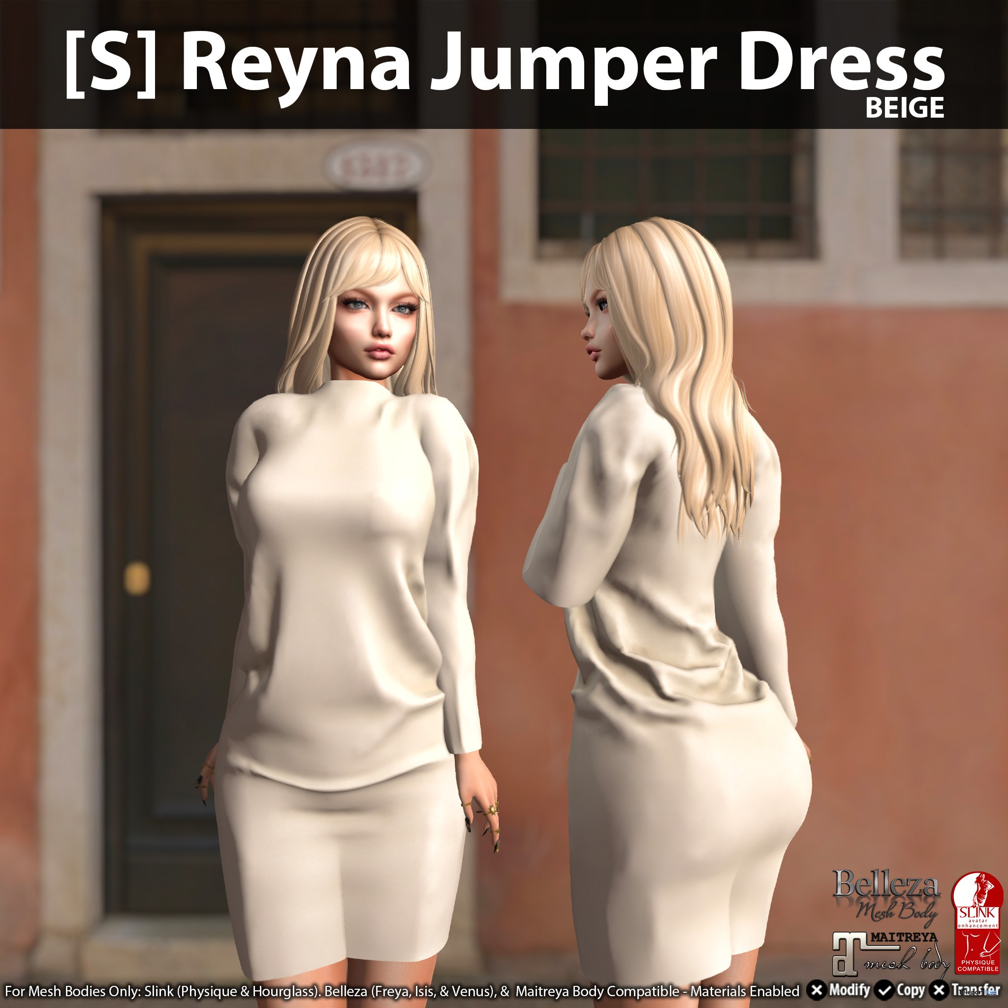 New Release: [S] Reyna Jumper Dress by [satus Inc] - Teleport Hub - teleporthub.com