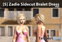 New Release: [S] Zadie Sidecut Bralet Dress by [satus Inc] - Teleport Hub - teleporthub.com