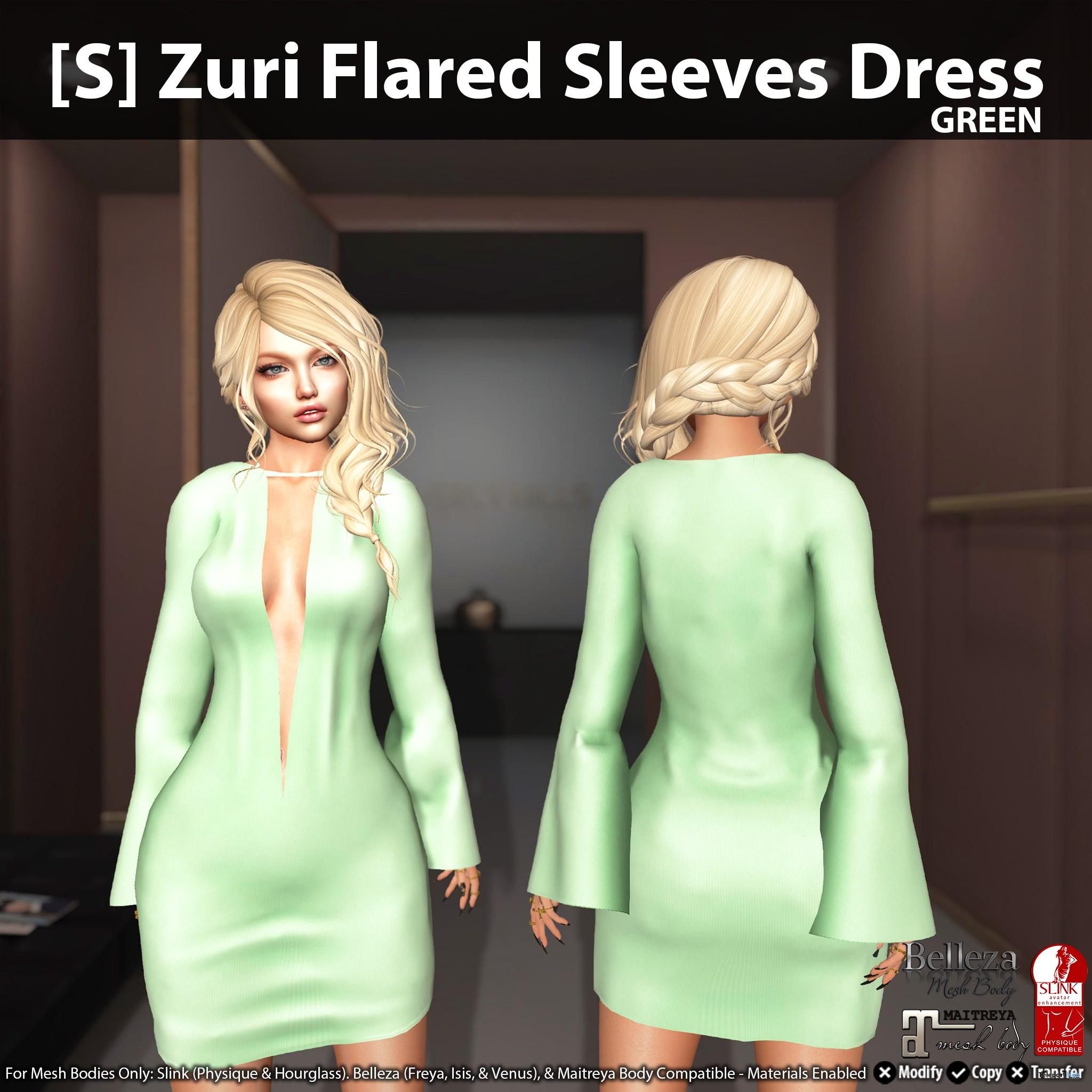 New Release: [S] Aarona Belted Jacket & Skirt by [satus Inc] - Teleport Hub - teleporthub.com
