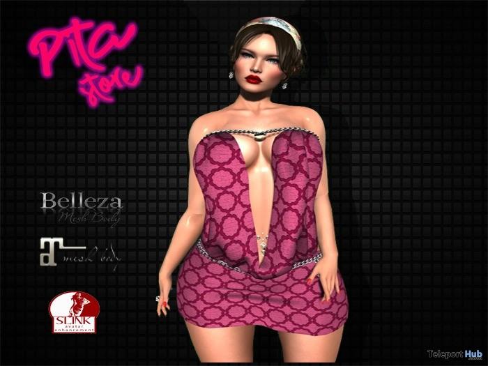 Rose Print Dress 1L Promo Gift by PITA - Teleport Hub - teleporthub.com
