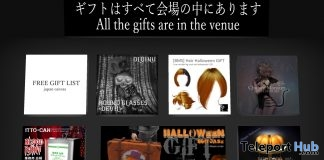 Several Halloween 2018 Gifts by Various Designers @ Japan Canvas Sim - Teleport Hub - teleporthub.com