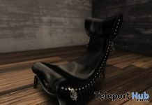 New Release: Empress Chair by Dollmart - Teleport Hub - teleporthub.com