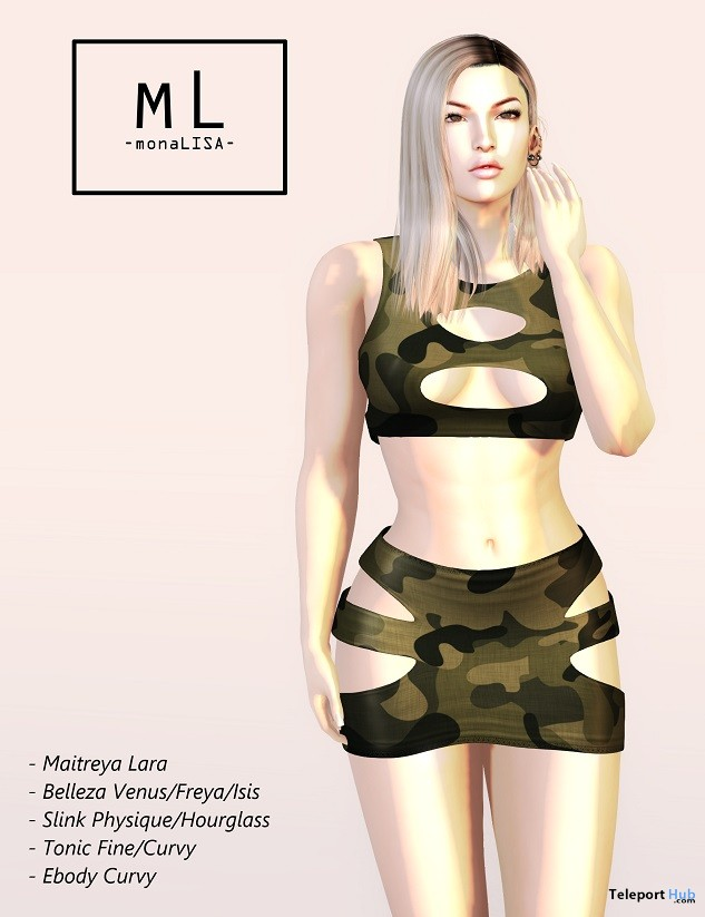Dizzy Outfit October 2018 Group Gift by monaLISA - Teleport Hub - teleporthub.com