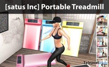 New Release: Portable Treadmill by [satus Inc] - Teleport Hub - teleporthub.com