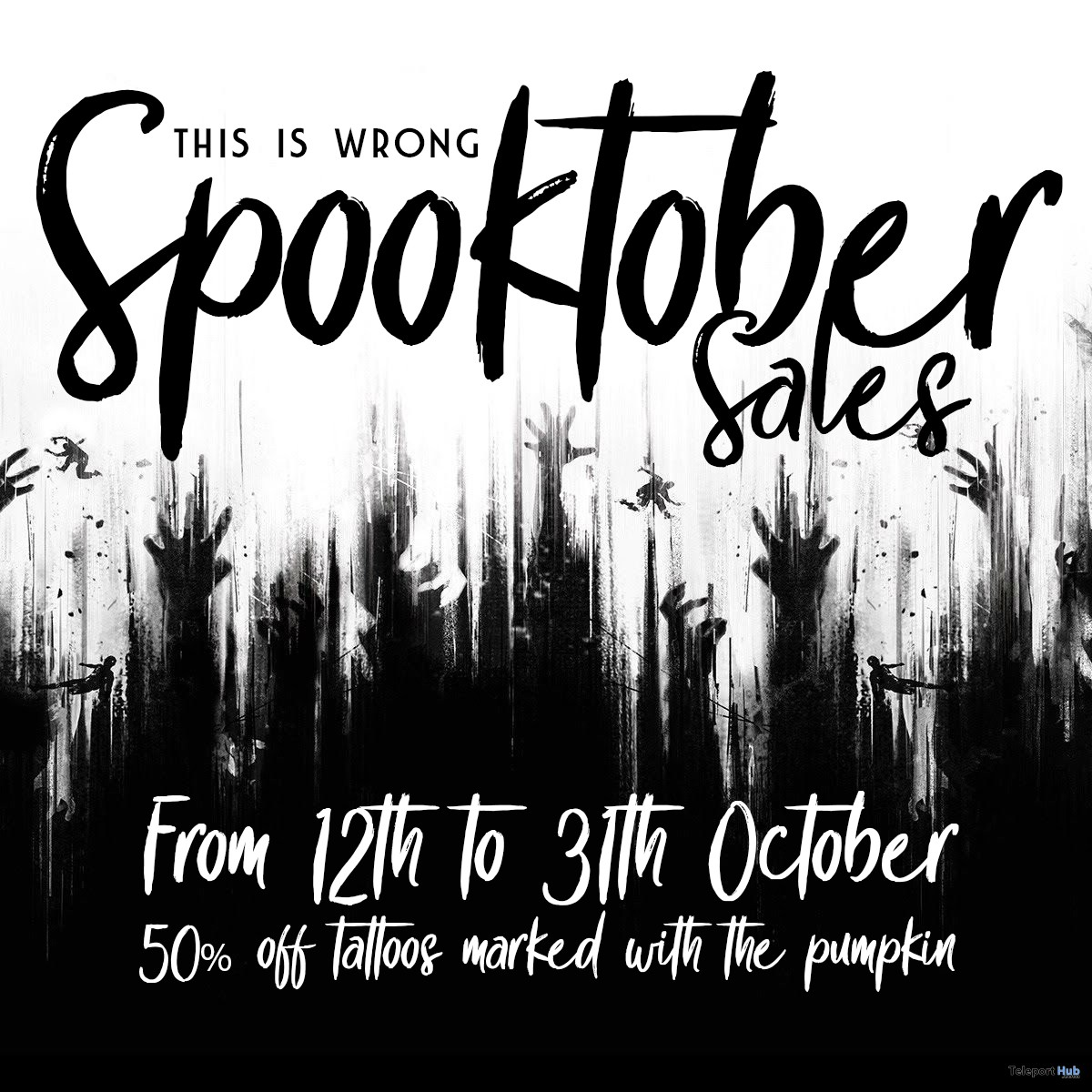 Spooktober Sales Promo 2018 by THIS IS WRONG - Teleport Hub - teleporthub.com