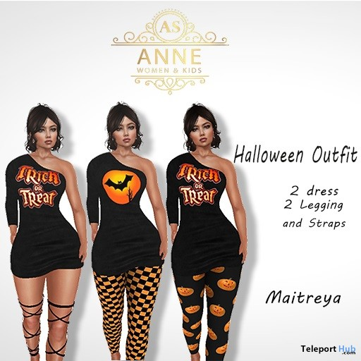 Halloween Outfit 50L Promo by Anne Store - Teleport Hub - teleporthub.com