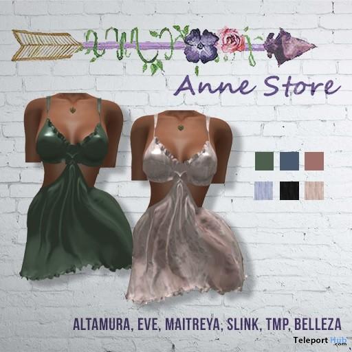 Lola Silk Dress 1L Promo Gift by Anne Store - Teleport Hub - teleporthub.com