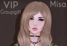 Misa Hair November 2018 Group Gift by Ayashi - Teleport Hub - teleporthub.com