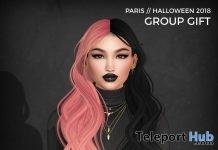 Paris Hair Halloween 2018 Subscriber Gift by Wasabi - Teleport Hub - teleporthub.com