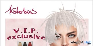 Sia Hair Exclusive Pack November 2018 Group Gift by KoKoLoReS - Teleport Hub - teleporthub.com