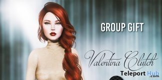 Valentina Clutch November 2018 Group Gift by Belle Epoque - Teleport Hub - teleporthub.com