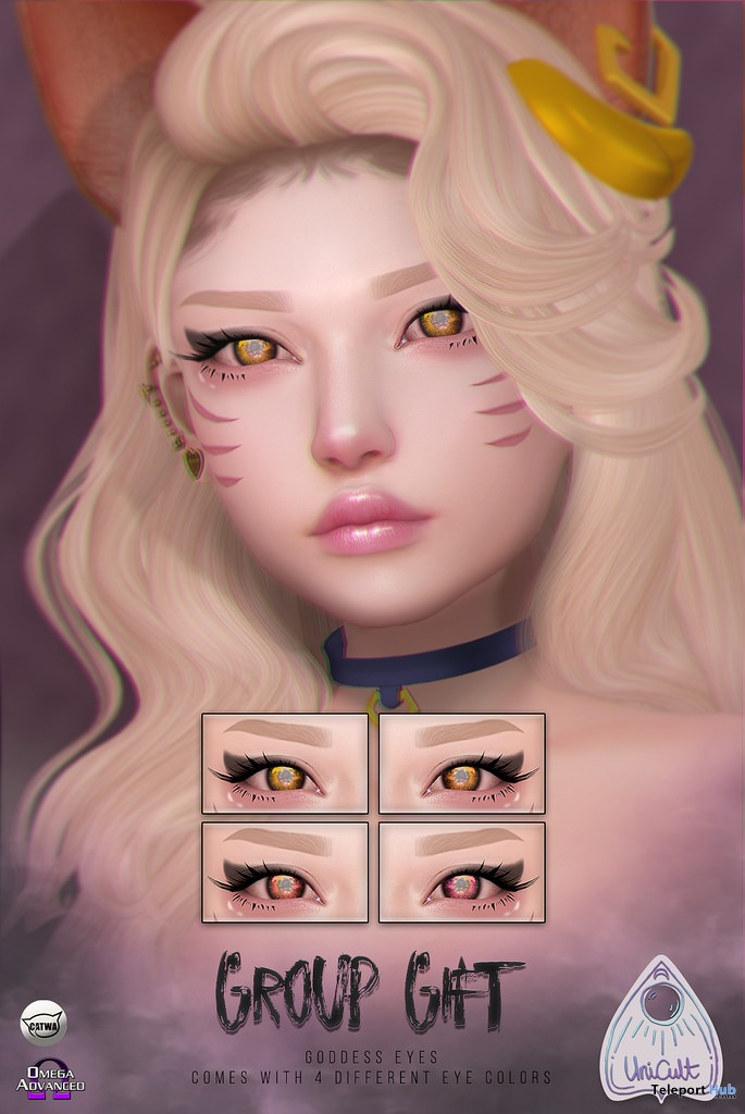 Goddess Eyes November 2018 Group Gift by UniCult - Teleport Hub - teleporthub.com