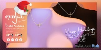Cynful Necklace November 2018 Group Gift by [Cynful] Clothing & Co. - Teleport Hub - teleporthub.com