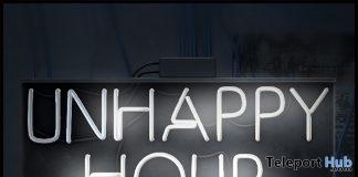 UnHappy Hour Neon Sign November 2018 Subscriber Gift by [Krescendo] - Teleport Hub - teleporthub.com