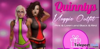 Maggie Outfit November 2018 Group Gift by Quinnty's - Teleport Hub - teleporthub.com