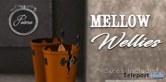 Pumpkin Spice Wellies November 2018 Group Gift by {Poeme} - Teleport Hub - teleporthub.com