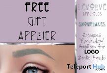 Snowflake Face Applier November 2018 Gift by i.Evolve - Teleport Hub - teleporthub.com