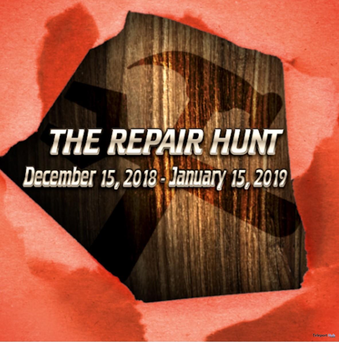 The Repair Hunt 2018 - Teleport Hub - teleporthub.com