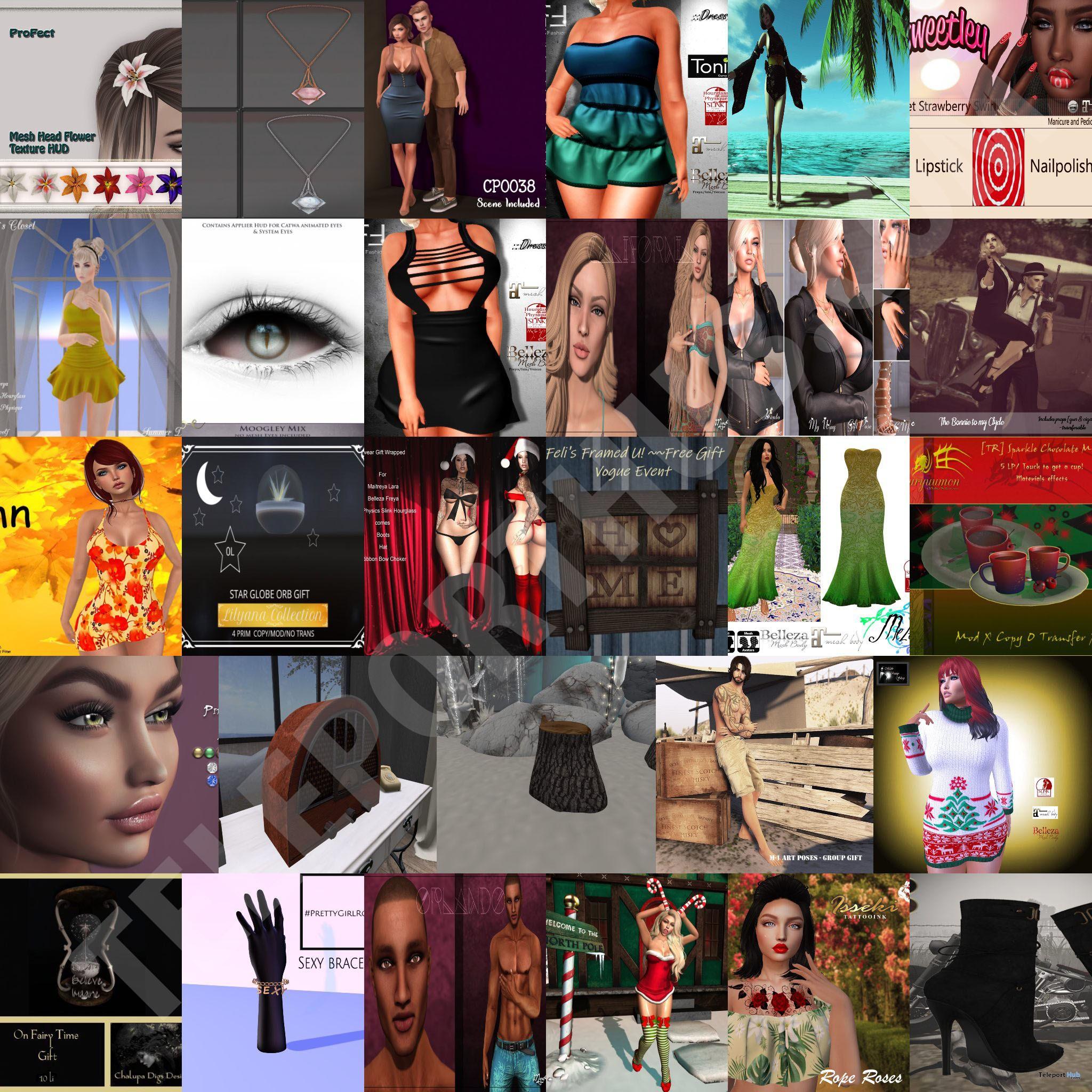 Several Gifts @ The Original Vogue Event November 2018 by Various Designers - Teleport Hub - teleporthub.com