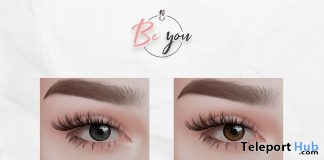 Simple Mesh Eyes & Catwa Eye Applier December 2018 Group Gift by Be You - Teleport Hub - teleporthub.com