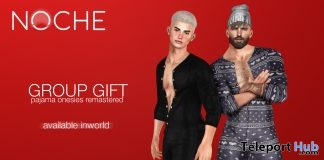 Pajama Onesies Fatpack December 2018 Group Gift by NOCHE - Teleport Hub - teleporthub.com