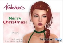 Miri Hair Exclusive Pack Christmas 2018 Gift by KoKoLoReS - Teleport Hub - teleporthub.com