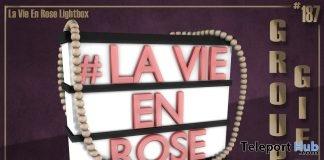 La Vie En Rose Lightbox December 2018 Group Gift by Boutique #187# - Teleport Hub - teleporthub.com