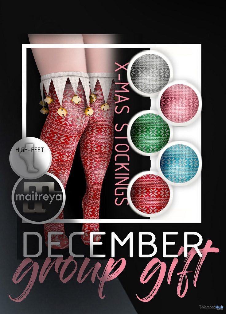 X-Mas Stockings December 2018 Group Gift by Mug - Teleport Hub - teleporthub.com