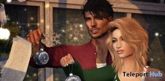 Ornament Unisex Pose Christmas 2018 Group Gift by Ardent Poses - Teleport Hub - teleporthub.com