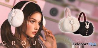 Bunny Earmuffs December 2018 Group Gift by toksik - Teleport Hub - teleporthub.com