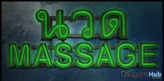 Thai Massage Neon Sign December 2018 Subscriber Gift by [Krescendo] - Teleport Hub - teleporthub.com
