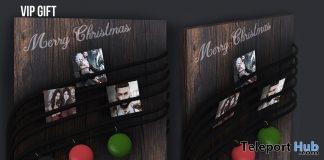 Merry! Photo Holder December 2018 Group Gift by Speakeasy - Teleport Hub - teleporthub.com
