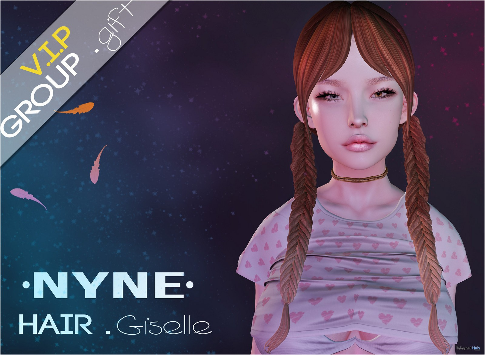 Giselle Hair December 2018 VIP Group Gift by NYNE