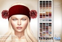 Pompom Hair Christmas 2018 Gift by eXxEsS Hair - Teleport Hub - teleporthub.com