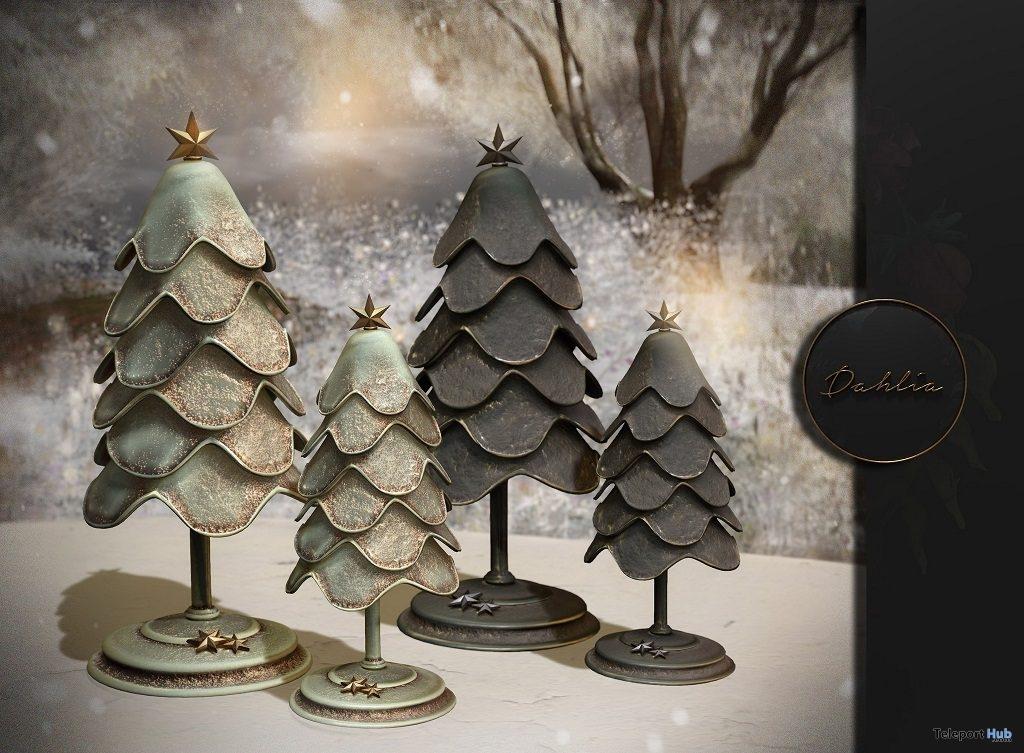 Folk Christmas Tree December 2018 Group Gift by Dahlia - Teleport Hub - teleporthub.com