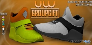 Iwazu Shoes Unisex December 2018 Group Gift by Uniwaii - Teleport Hub - teleporthub.com