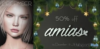 Necklace Gold & Silver December 2018 Group Gift by amias - Teleport Hub - teleporthub.com