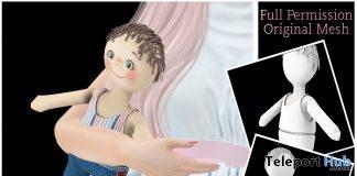 Boy Rag Doll Full Perm December 2018 Group Gift by Sherbert- Teleport Hub - teleporthub.com