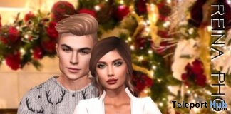 Family Pose FA0041 December 2018 Gift by Reina Photography - Teleport Hub - teleporthub.com