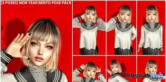 New Release: [S Poses] New Year Bento Pose Pack by [satus Inc] - Teleport Hub - teleporthub.com