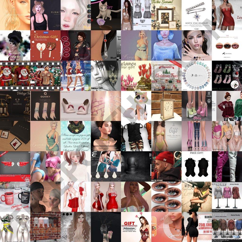 Several Shop & Hop Sale Event December 2018 Gifts by Various Designers - Teleport Hub - teleporthub.com