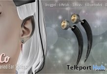 Tapered Ear Spikes Christmas 2018 Gift by SynCo @ Winter's Hollow Event December 2018 - Teleport Hub - teleporthub.com