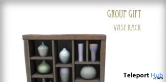 Vase Rack December 2018 Group Gift by D-LAB - Teleport Hub - teleporthub.com